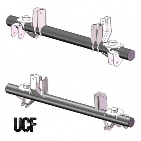 UCF TJ Rear Axle Bracket Kit (Dana/Sterling)