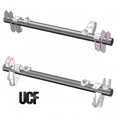 UCF JK Rear Axle Bracket Kit (Sterling/Dana/Corporate 14 Bolt)
