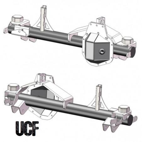 UCF JK '99+ Super Duty Dana 60 Front Axle Bracket Kit