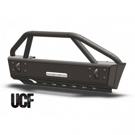 UCF Stubby Steel Front Bumper for '07-'18 Jeep Wrangler JK