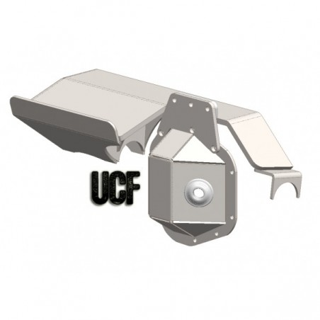 UCF Ford Dana 60 Truss System w/ Double-Ended Ram Mount