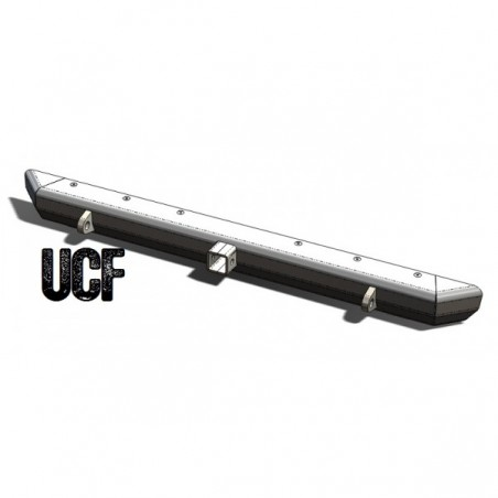 UCF Steel Rear Bumper for Jeep YJ & TJ