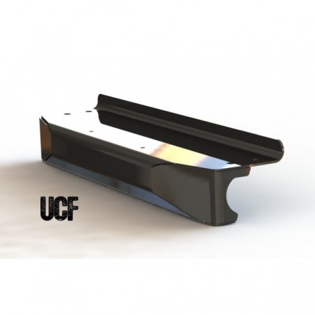 UCF Jeep TJ Aluminum Ultra-High Clearance Front Bumper