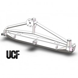 UCF Steel Rear Bumper &...