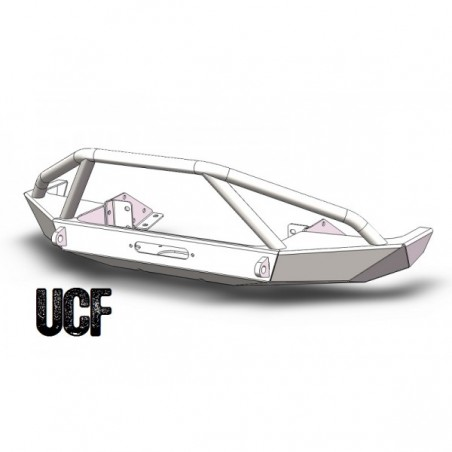 UCF Steel Front Bumper for Jeep Cherokee XJ