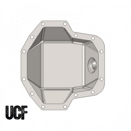 UCF Ultimate Dana 60 Front HD Diff Cover (Welded)