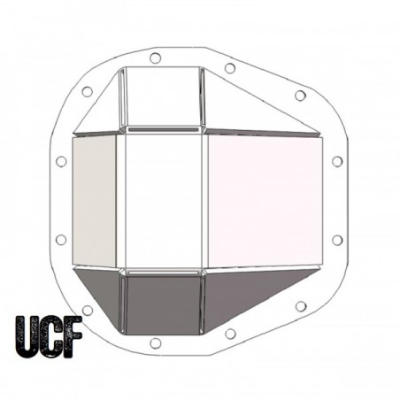 UCF Sterling 10.25/10.5 Rear HD Diff Cover (Welded)