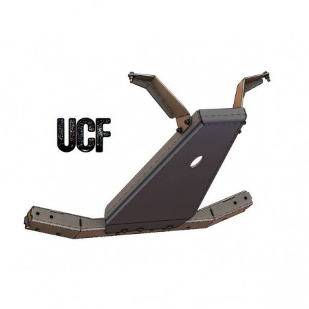 UCF Carbon Steel Engine Skid Plate for '07-'11 JK