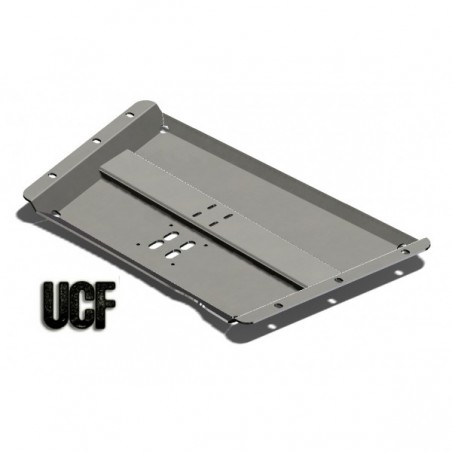 UCF Transfer Case Skid for '97-'02 TJ (No Body-Lift Req'd)(6061-T6 Alum)